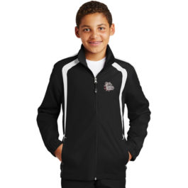 Sport-Tek Youth Colorblock Raglan Jacket