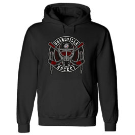 Heavyweight Hooded Sweatshirt – Black
