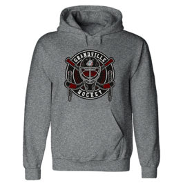 Heavyweight Hooded Sweatshirt – Dark Grey